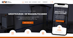 Webdesign voor chocolaterie van Zutphen in Losser